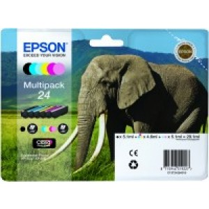 Multipack de 6 couleurs Epson 24