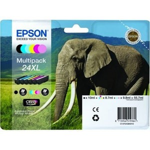 Multipack de 6 couleurs Epson 24XL