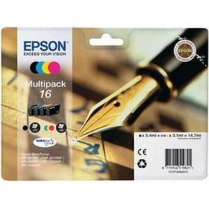 Pack Cartouche encre Epson noire et couleur 16 - T1626