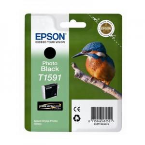Cartouche encre Epson T1591 noire Photo