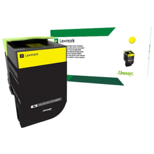 Cartouche de toner jaune Lexmark 802SY