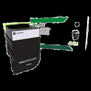 Cartouche de toner noire Lexmark 802K