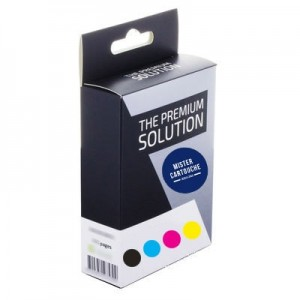 Pack de 5 cartouches compatibles Brother LC1100 / LC980 Noir et Couleurs