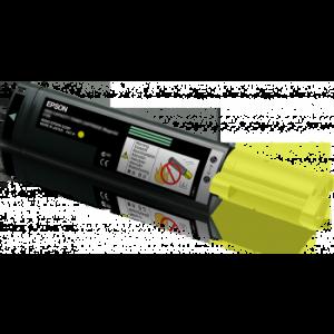 Toner laser origine Epson C13S050187 Jaune