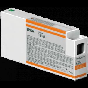 Epson T636A / C13T636A00 Orange – Cartouche d'encre origine
