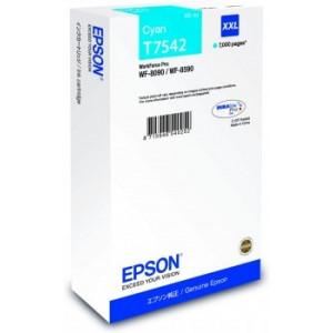 Epson  T7542 Cyan – Cartouche d'encre origine