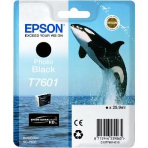 Cartouche encre Epson T7601 noire Photo
