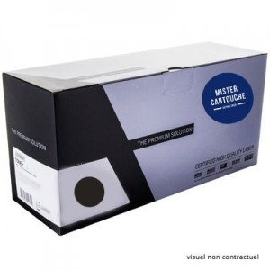 Toner laser compatible Lexmark 12A7462 Noir