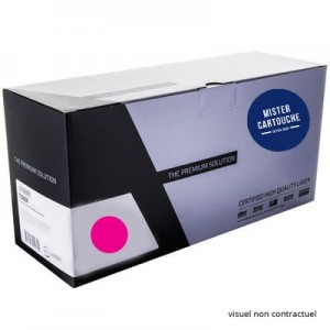 Toner laser compatible Samsung CLP-M600 Magenta