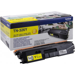 Toner-Laser-Origine-Brother- TN-326YXL-Jaune