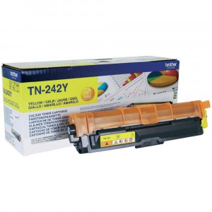Toner Laser Origine Brother TN-242Y