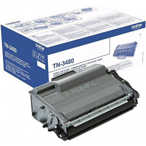 Toner laser Brother TN-3480 noire