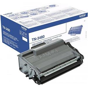 Toner laser Brother TN-3480 noire