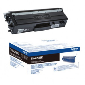 Toner Laser Origine Brother TN-423BK