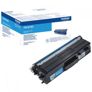 Toner laser origine Brother TN-910C Cyan