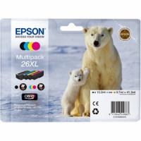 Epson T2636 Pack 4 Cartouches 26XL - Ours Polaire