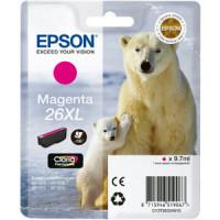Cartouche encre Epson T2633 magenta - 26XL Ours Polaire