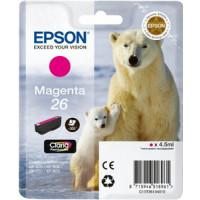 Cartouche encre Epson T2613 magenta - 26 Ours Polaire