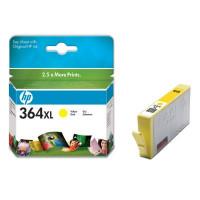 Cartouche encre HP 364XL Couleur Jaune -CB325EE