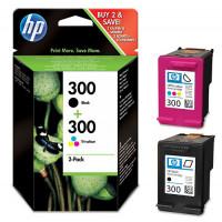 Pack Cartouche encre HP N°300 Noire et couleur