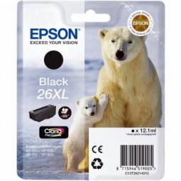 Cartouche encre Epson T2621 noire 26XL Ours Polaire