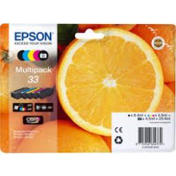 Multipack Oranges Epson  T3337