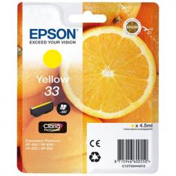 Cartouche encre Epson T3344  jaune - Oranges