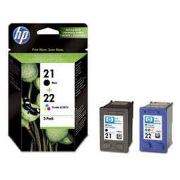 Pack Cartouche encre HP C9351AE N°21 et C9352AE N°22