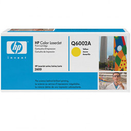 Cartouche Laser HP Q6002A  jaune