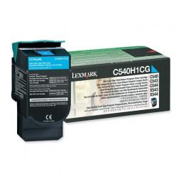 Cartouche Laser Lexmark Couleur Cyan  C540H1CG Haute Capacité
