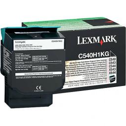 Cartouche Laser Lexmark Noire C540H1KG Haute Capacité