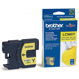 Cartouche encre Brother LC980Y jaune