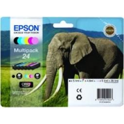 Multipack de 6 couleurs Epson 24