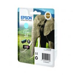 Cartouche encre Epson Cyan clair 24 elephant