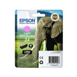 Cartouche encre Epson magenta claire 24 elephant