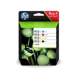 Pack HP 912 XL / 3YP34AE Couleur et noir