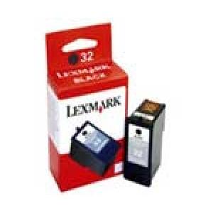 Cartouche encre Lexmark N°32 18CX032E  Noire
